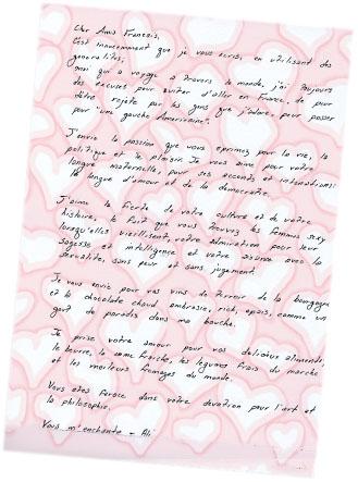 carta de amor novio