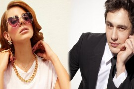 Lana del Rey y James Franco juntos
