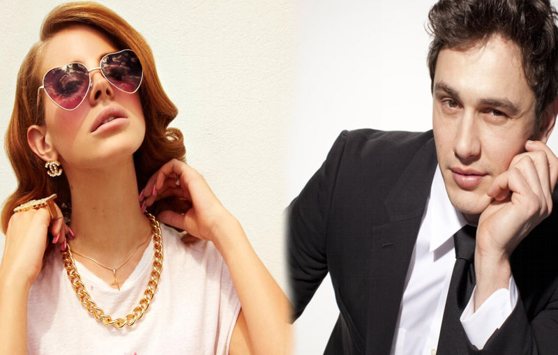 ¿Lana del Rey y James Franco juntos?