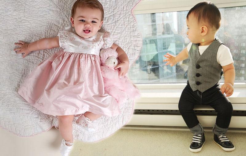 la popularidad de la ropa de dise o para beb s