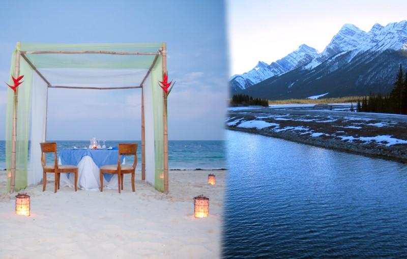10 lugares románticos: ideales para viajes de amor