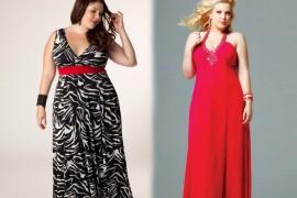 vestidos de fiesta largos para gorditas