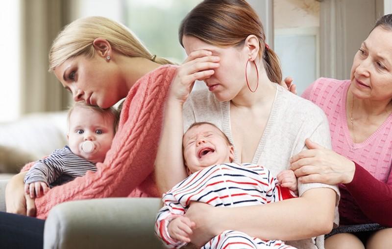 Por qué se produce la depresión post parto