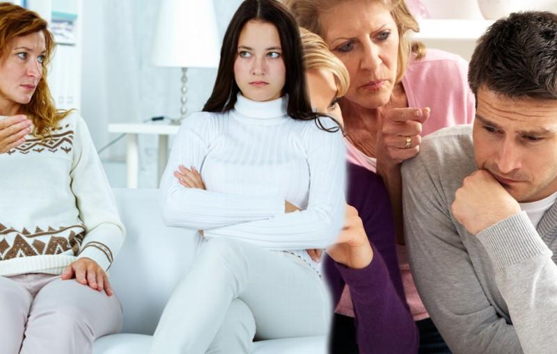 mala relación con la suegra