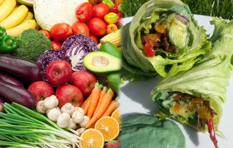 alimentos sanos que se comen crudos