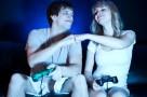pareja y video juegos