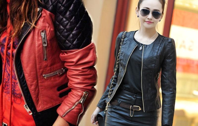Tipos de chaquetas de cuero mujer