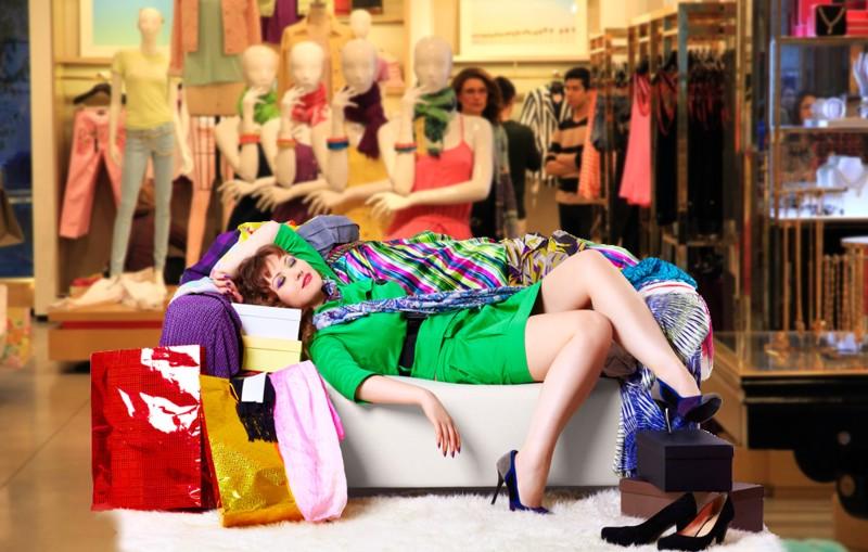Como tratar la adicción a las compras