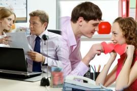 relaciones amorosas en el lugar de trabajo