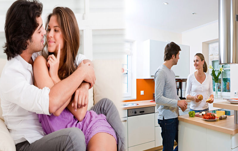 ¿Qué puedes hacer con tu pareja en casa?