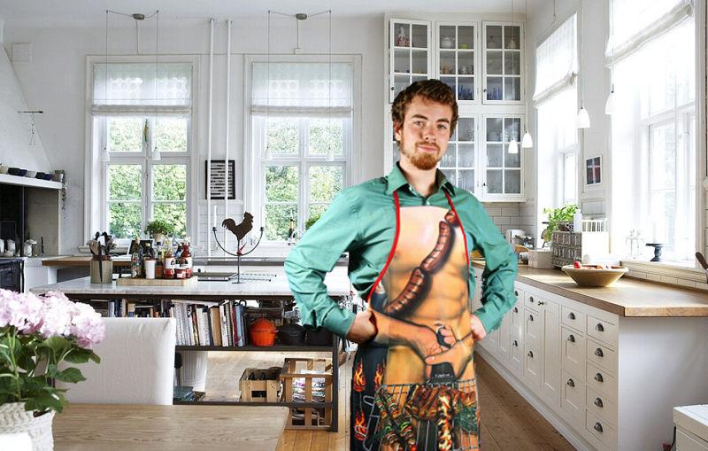 ¿Los hombres son más atractivos en la cocina?