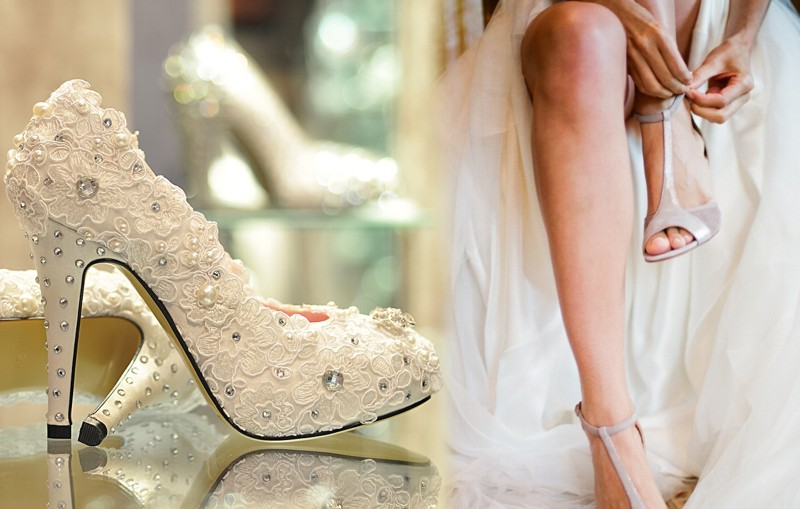 zapatos para la novia