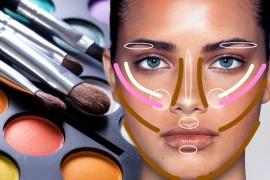 trucos de maquillaje para afinar la nariz