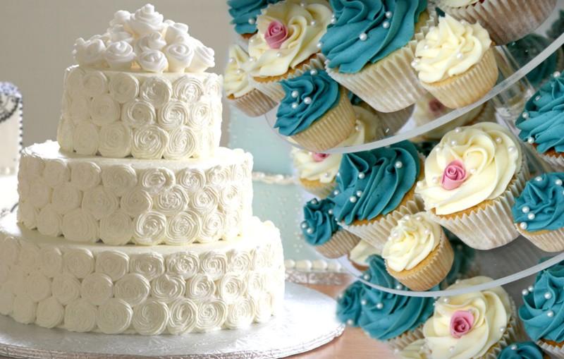 ¿Cupcakes para boda o pastel de boda?