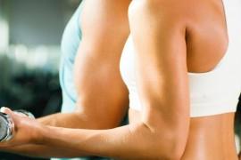 ejercicios para la flacidez en los brazos
